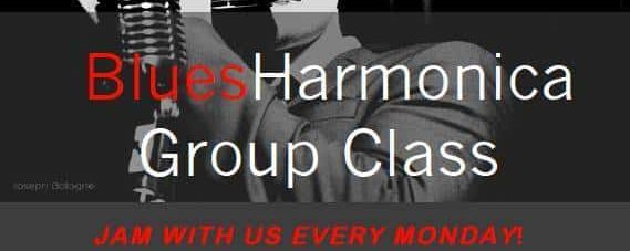 NEW Saturday Group Harmonica Classes at Caffe Vivaldi (Village)